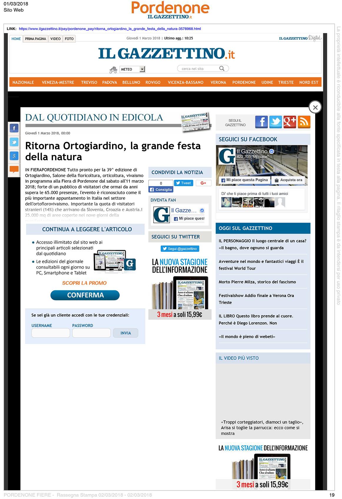 03-01-RassegnaStampa19-IlGazzettino-it