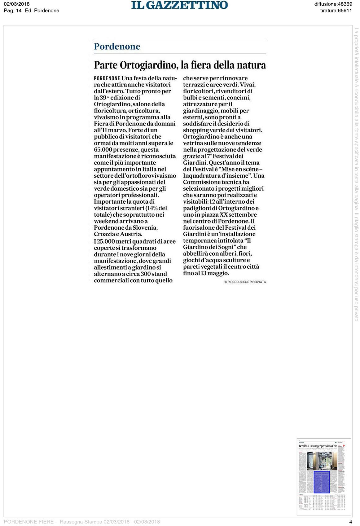 03-02-RassegnaStampa04-IlGazzettino
