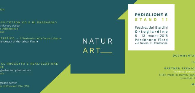 No Title Gallery presenta Naturart al Festival dei Giardini: una proposta di sinergia tra architettura, arti visive e progettazione di paesaggio.