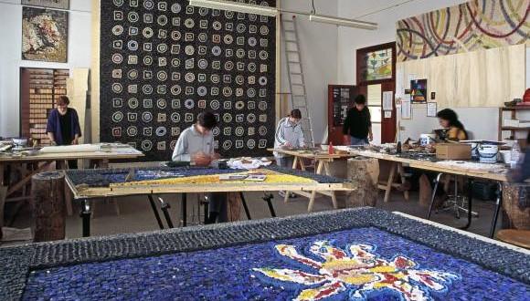 La Scuola Mosaicisti del Friuli presente alla 40° edizione di Ortogiardino